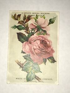 Vintage Victorian The White Sewing Machine Trade Card J5 $3.95