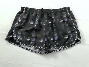 Under Armour Womens Size Medium Lined Running Athletic Shorts Semi Fitted $10.50