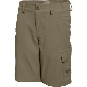NWT boys UNDER ARMOUR Storm golf shorts Sz Youth Small Water Resistant $55 tag $14.99