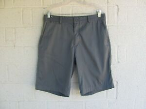 MENS NIKE GOLF SHORTS SZ 32 TOUR PERFORMANCE DRI FIT COLOR GRAY PRE OWNED $15.50