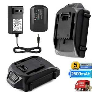 20V 2.5Ah Lithium Battery 2A Rapid Charger for WORX WA3525 WA3520 in Combo