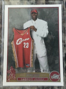 2003 04 Topps Basketball Rookie #221 LeBron James RC ***RP*** SGC 10?