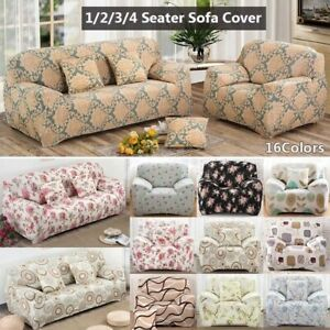 Printed Stretch Sofa Slipcover Couch Covers Universal Sofa Slipcover Protector