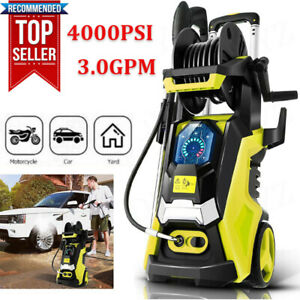 3800PSI 2.8GPM Electric Pressure Washer High Power CleanerWater Sprayer Machine