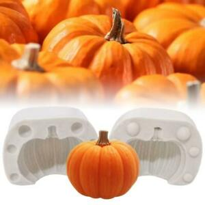 Halloween Pumpkin Silicone Molds Cake DIY Chocolate Cookie Decor Baking Mould US