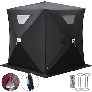 2 person Ice Fishing Shelter Tent Portable Pop Up House Outdoor Fish Equipment