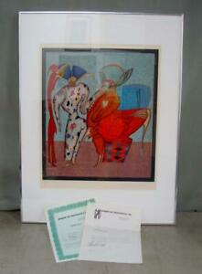 Mihail Chemiakin Carnival at St Petersburg FAMILLE Signed Litho with COA 78 225 $425.10