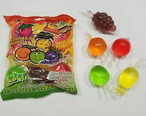Fruit Jelly TIK TOK CANDY 9 Pieces 1 BAG Din Don SHIPPING IMMEDIATELY