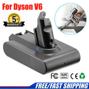 For Dyson Replacement Battery V6 Animal DC58 DC59 DC61 DC62 SV04 SV03 Vacuum