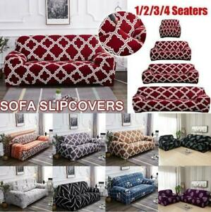 Printed Sofa Cover Stretch Couch Cover Durable Sofa Slipcovers for Sofa Couch US $29.08