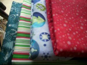Fabric one quarter 1 4 yard build your own bundle Christmas
