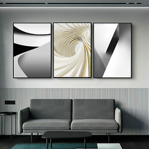 12quot;x20quot; x 3 Panels Abstract Wall Art Decor Painting Pictures Set Print On Canvas $44.59