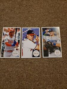 2020 Topps Archives Box Toppers. Lux Harper And Chipper Jones $21.00