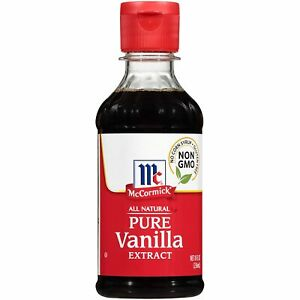 McCormick All Natural Pure Vanilla Extract 8 oz Factory Sealed