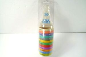 Fred Beer Bands 12 Pack Beer Bottle Markers Personalization Reusable Brand New
