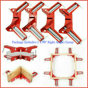 1 2 4x 90° Right Angle Clip Clamps Corner Holder Woodworking Hand Tool Carpenter $8.49