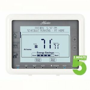Hunter 44905 Universal 7 Day Programmable Thermostat $105.54