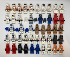 LEGO Star Wars Minifigures Lot Clone Troopers Stormtroopers Imperial YOU PICK $17.99