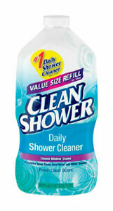 Clean Shower No Scent Basin Tub and Tile Cleaner 60 oz. Liquid $8.00
