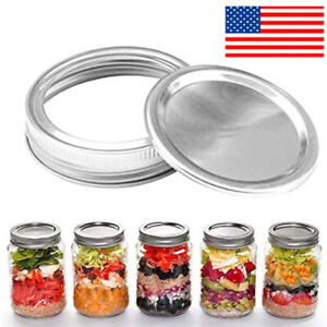 1PC 12PC 48Pcs Metal Can Lid Circle Ring for Most Cans US SHIP NEW