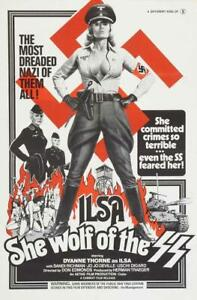 Ilsa She Wolf of the SS Movie POSTER 27 x 40 Dyanne Thorne A