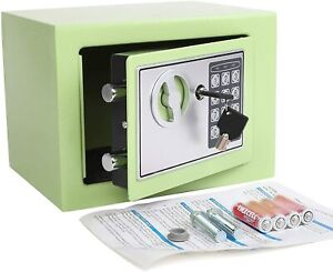 Electronic Digital Security Safe Box Keypad Lock Home Office Cash Use Storage $45.59
