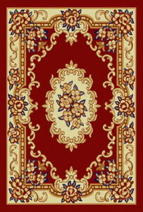 Amara Collection Modern French Victorian 5x7 Area Rugs 2798