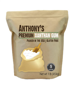 Anthony#x27;s Xanthan Gum 1lb Batch Tested Gluten Free Keto Friendly Product