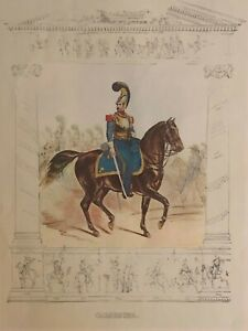 VINTAGE LITHOGRAPHS 19TH CENTURY MILITARY SOLDIERS WORLDWIDE FIVE PRINTS SET $125.00
