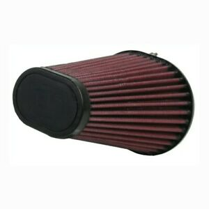 Universal Replacement 90 Degree Motorcycle Air Filter 6 Tapered Oval 2.438 ID $39.99
