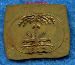 Antique CITADEL 1842 Brass Stamping CADET PIN or SWORD CHARLESTON SC * MC Lilley $18.00