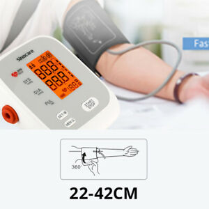 Sinocare Home Use Portable Upper Arm Voice Blood Pressure Monitor For 2 Users