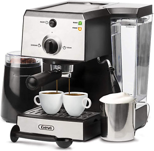 Espresso Machines 15 Bar Coffee Machine With Milk Frother Wand For Espresso Capp