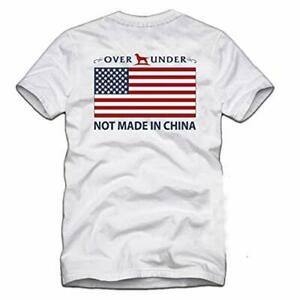 Over Under Youth Not Made in China Short Sleeve Tee Shirt White yl $32.99