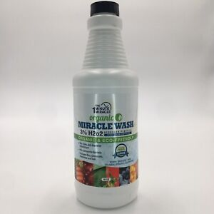 Organic Miracle Wash For All Planet And Food Washing 16oz $9.99