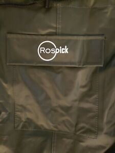 Rospick Full Chest With Boots Waterproof PVC Fishing Waders Green Size 40 or 7