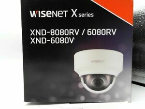 WiseNet XND 6080RV 2MP Motorized 2.8 12mm Network Dome Camera