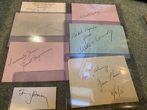 """100% Authentic """"Amos N Andy"""" SIGNED 1930's Comedy Actors AUTOGRAPH Radio Stars $49.95"""