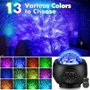 GALAXY 360 PRO PROJECTOR Music Starry Water Wave LED Projector Light Bluetooth $29.99
