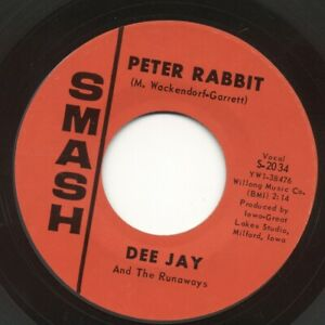 DEE JAY AND THE RUNAWAYS 45 quot;PETER RABBITquot; $3.00
