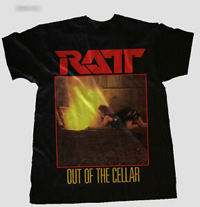 New RATT Out of the Cellar Heavy Metal T Shirt FREE SHIPPING $21.99