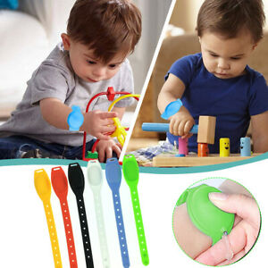 Silicone Soap Bracelet Wristband Hand Dispenser Band Squeeze Bottle Portable US $0.99