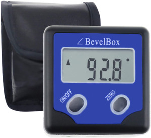 Digital Level Angle Finder Magnetic Bevel Box Gauge And Protractor Inclinometer $43.34