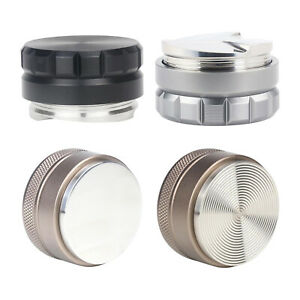 58mm Coffee Distributor Espresso Tamper Stainless Steel for Office Home $28.28