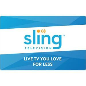 Slingtv orangeamp;blue ✔️ 3 Years Waranty✔️Instant Delivery LIMITED OFFER $16.00