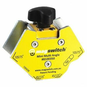 Magswitch 8100350 Welding Angle150 Lb. Max. PullSteel $32.00