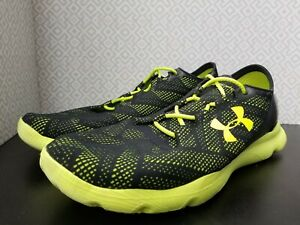 Under Armour Speedform Apollo Vent Us Size 12 Running Mens Shoes 1252287 002 $37.98