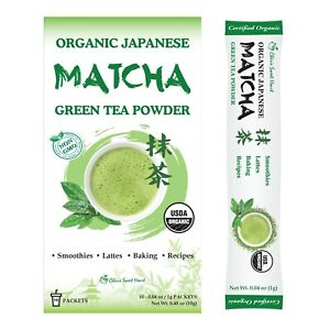 Cherie Sweet Heart Japanese Green Tea Stick Instant 1g for 1 cup Powder Matcha