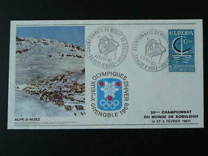 bobsleigh world cup 1967 pre olympic games Grenoble 1968 cover