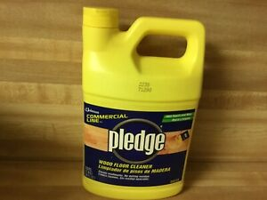 New Vintage Pledge Wood Floor Cleaner commercial Line 64 Ounces